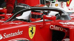 Un Ferrari con su halo.