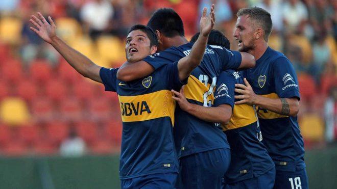 Palacios, en su etapa con el Boca Juniors.