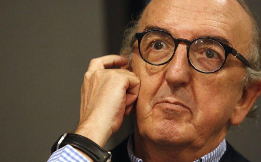Jaume Roures, durante una entrevista en la sede de Mediapro de...