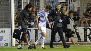 Llorente se retira renqueante del amistoso ante el Real Unión de...