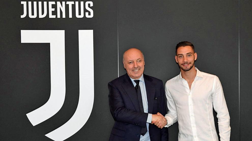 De Sciglio, en su presentación con la Juventus