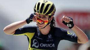 Annemiek Van Vleuten, vencedora de La Course en el Izoard.