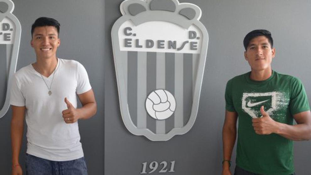 El 'Puma' y 'Titino', nuevos jugadores del Eldense.