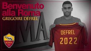 Gregoire Defrel, nuevo jugador de la Roma.