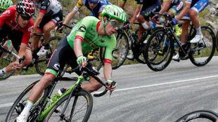 Rigoberto Urán durante el Tour de Francia.