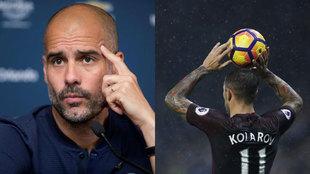 Guardiola y Kolarov