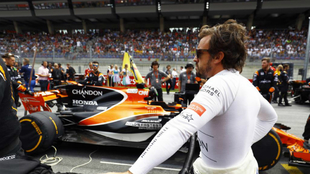 Fernando Alonso en Silverstone