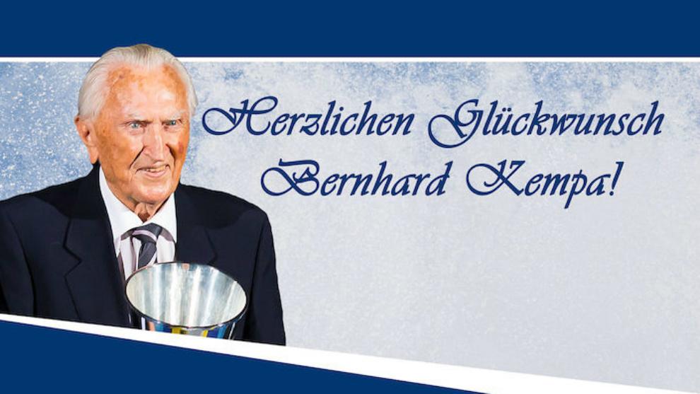 Homenaje a Kempa de la Bundesliga alemana