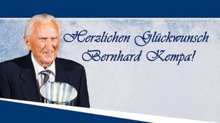 Homenaje a Kempa de la Federación Alemana de balonmano