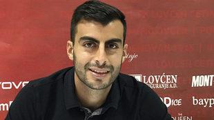 Juan Fernando Niño, jugador del FK Lovcen.