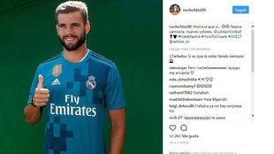 Instagram de Nacho.