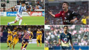 Figueroa, Garnica, Magaña y Lainez (de arriba a abajo, izquierda a...