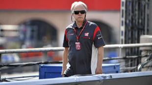 Gene Haas, fundador y presidente de Haas F1 team