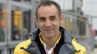 Cyril Abiteboul, en el circuito de Spielberg