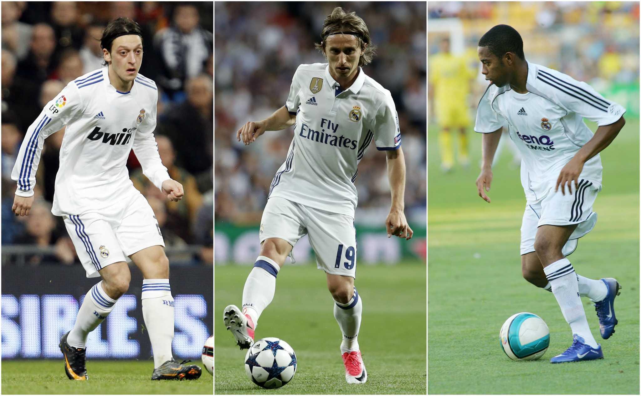 285db7c77 Modric is the latest Real Madrid No.10