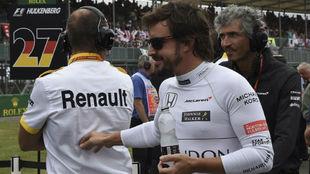 Fernando Alonso, en el pasado GP de Gran Bretaña