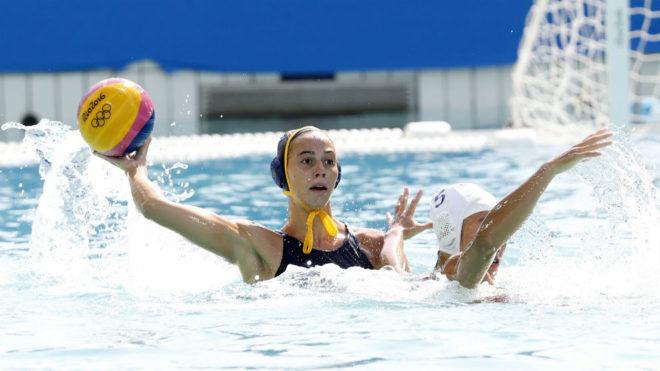 Bea Ortiz, ante una jugadora china