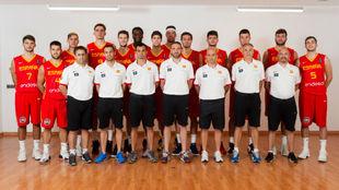 Los componentes de la Selección Española Sub 20 Masculina, uno a uno
