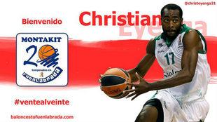 El Montakit Fuenlabrada da la bienvenida a Christian Eyenga (28).