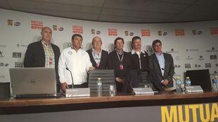 Javier Soler, en un acto con la Real Federación Española de Tenis