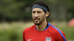 González en la práctica de Estados Unidos.