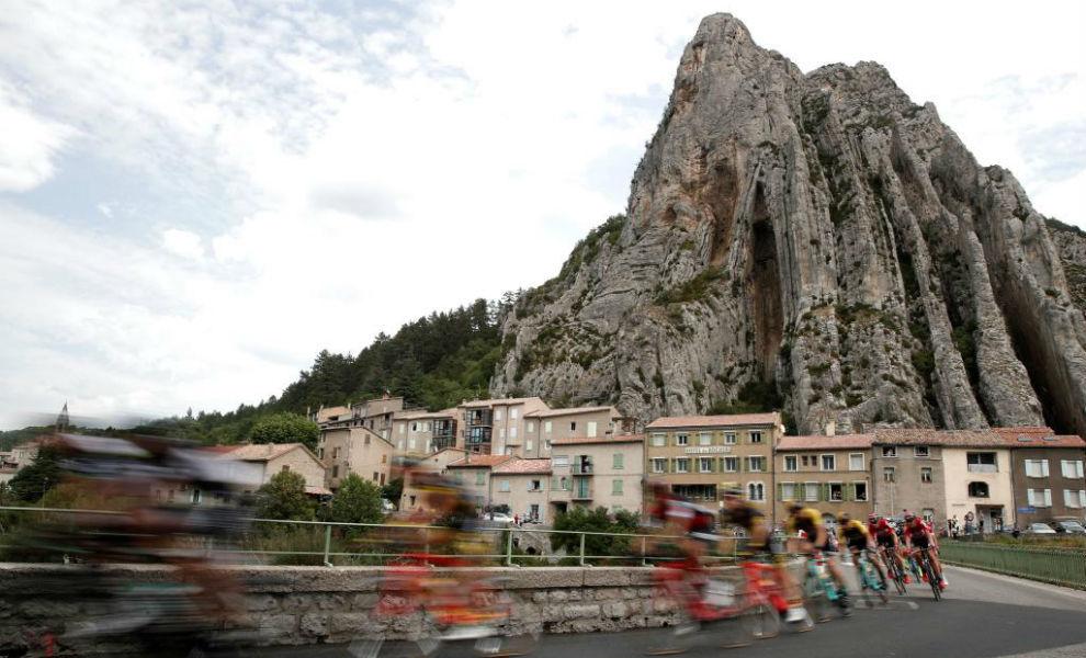 Una imagen del Tour de Francia de 2017.