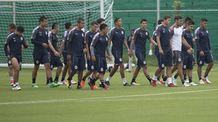 Chivas ya entrena para la Copa MX.