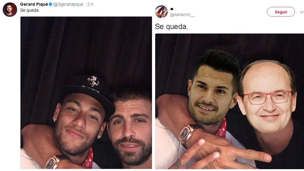 15008497494893 the best tweets and memes from gerard pique's \