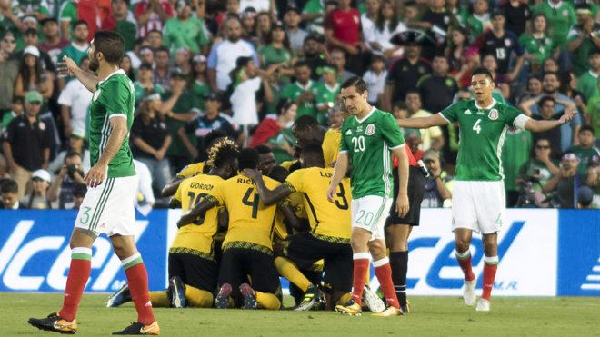 Jamaica sorprende y elimina a México de la Copa Oro 2017