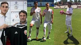 Sergio Herrera, Albizua y Yelko Pino y Quim Araujo