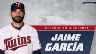Jaime García dejó a los Braves de Atlanta para enrolarse con los...
