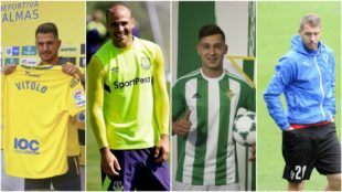 Vitolo, Sandro, Sergio Le�n y Lejeune son cuatro de los siete...