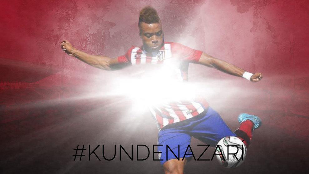 Kunde es presentado por el Granada en redes sociales