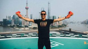 Cristiano en Shangai