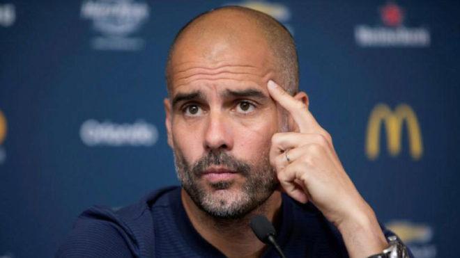 """Gvardiola: """"Real"""" va """"Barselona"""" darajasiga chiqishimiz uchun vaqt zarur"""
