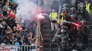 Enfrentamientos en la final de la Copa serbia
