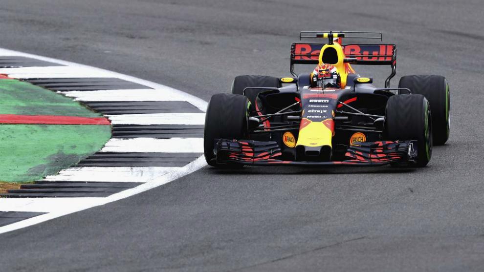 Verstappen en Silverstone