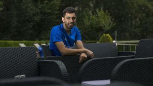 Borja Iglesias posa para MARCA en Boltaña.