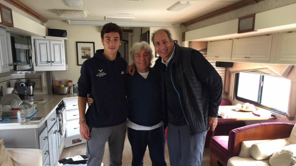 Huego, Nieto y Mediero, director del certamen