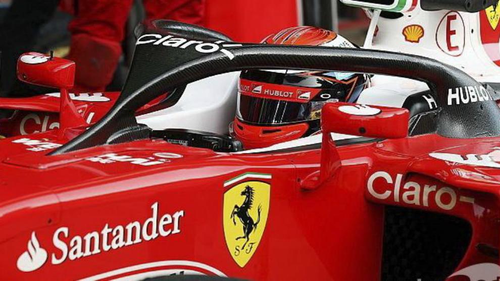 Ferrari con el halo