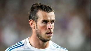 Bale durante la pretemporada del Real Madrid
