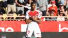 Mbapp� (18) celebra un gol en el Estadio Luis II
