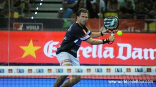 Paquito Navarro, durante los octavos del Gran Canaria Open