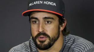 Fernando Alonso en Hungría