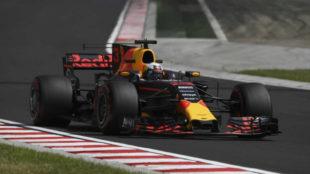 Ricciardo en Hungría