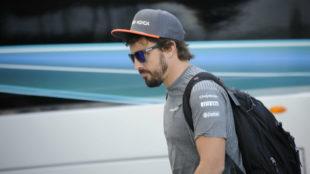 Alonso, en Hungría.