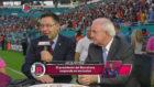Bartomeu, durante la entrevista para el programa 'Jorge Ramos y su...