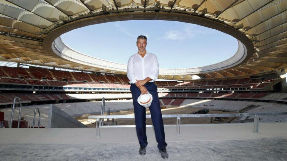 Gil Marin en el Wanda Metropolitano