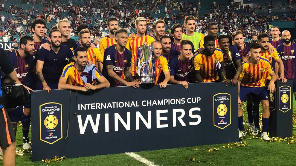 Barcelona Win The International Champions Cup And Real Madrid Finish Last