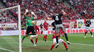 Partido de ida de la fase previa a la Europa League entre Dínamo y...